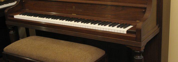 Rebuilt Walnut Steinway Model 100 Console Piano
